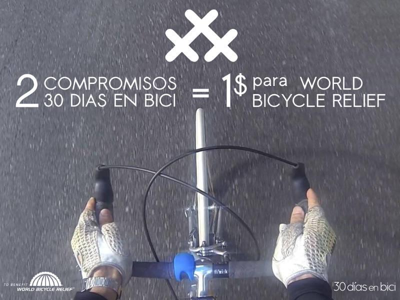 30 días en bici durante el mes de abril