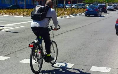 Al trabajo en bici. 30 días de Abril.
