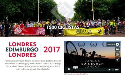 Arranca la Londres Edimburgo Londres 2017