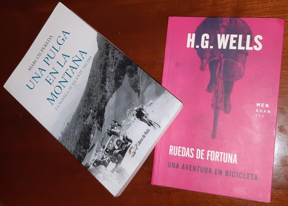 Literatura ciclista: «Ruedas de Fortuna» y «Una pulga en la montaña»